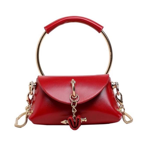 Karis' Kloset Handbags - Red Deluxe Mini Bag